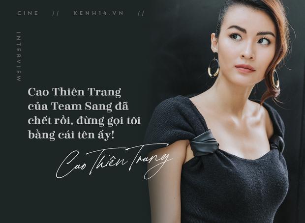 Cao Thiên Trang kể chuyện suýt mất vai vì lùm xùm show thực tế, tham vọng trở thành ác nữ điện ảnh Việt - Ảnh 8.