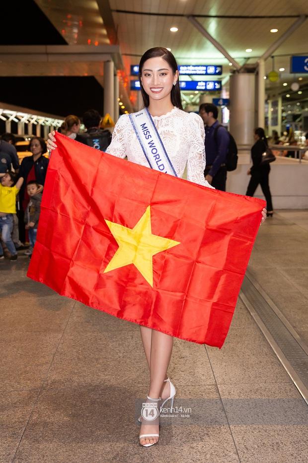Đỗ Mỹ Linh, Tiểu Vy và dàn mỹ nhân gây náo loạn sân bay khi tiễn Thùy Linh lên đường đi Anh dự thi Miss World - Ảnh 11.