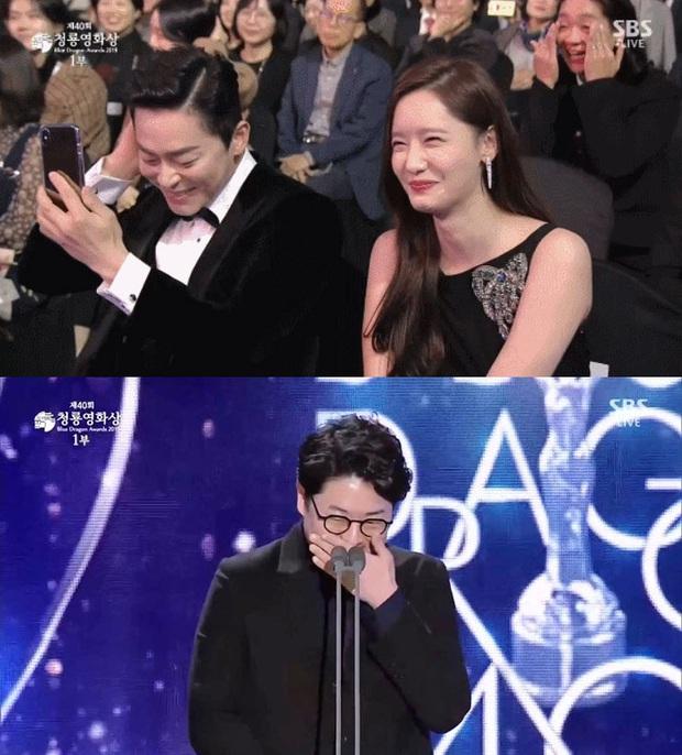 Đạo diễn EXIT đi Rồng Xanh quên luôn tên nam chính, Yoona ngồi cạnh cười muốn nội thương - Ảnh 1.