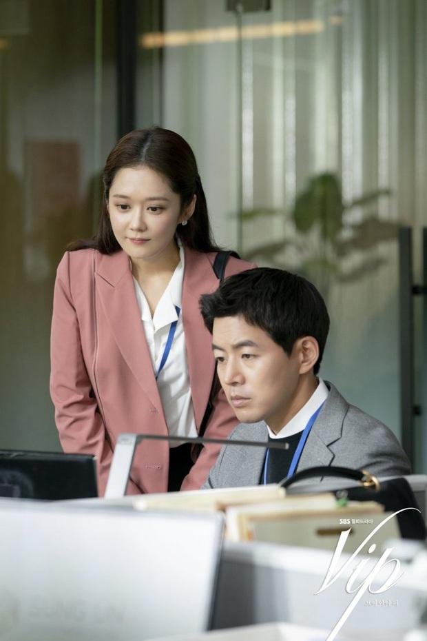Jang Nara trong phim bóc phốt chồng ngoại tình: Đẹp từ kiểu tóc, cách trang điểm cho đến style công sở chuẩn chỉnh - Ảnh 12.