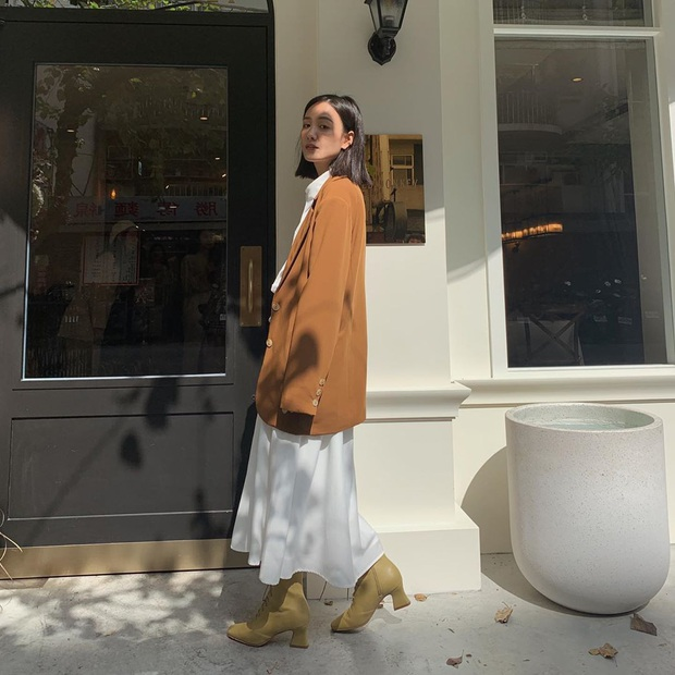 4 cách diện váy mùa lạnh xinh không để đâu cho hết, bạn áp dụng thì sẽ tỏa sáng mọi lúc mọi nơi - Ảnh 12.