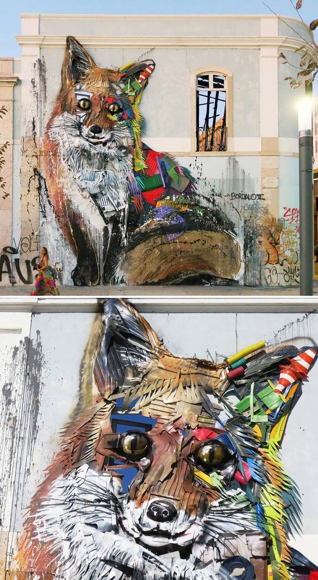 Những tác phẩm nghệ thuật tuyệt mỹ được tạo ra từ rác thải khiến ai xem xong cũng phải trầm trồ và suy ngẫm - Ảnh 18.