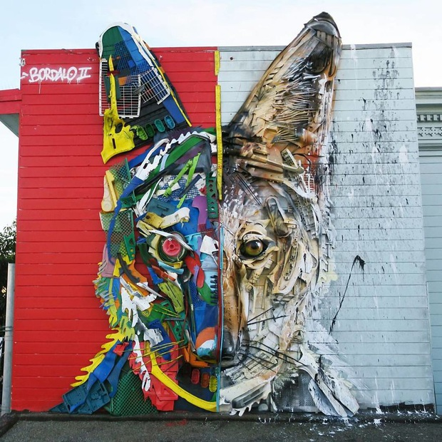 Những tác phẩm nghệ thuật tuyệt mỹ được tạo ra từ rác thải khiến ai xem xong cũng phải trầm trồ và suy ngẫm - Ảnh 24.
