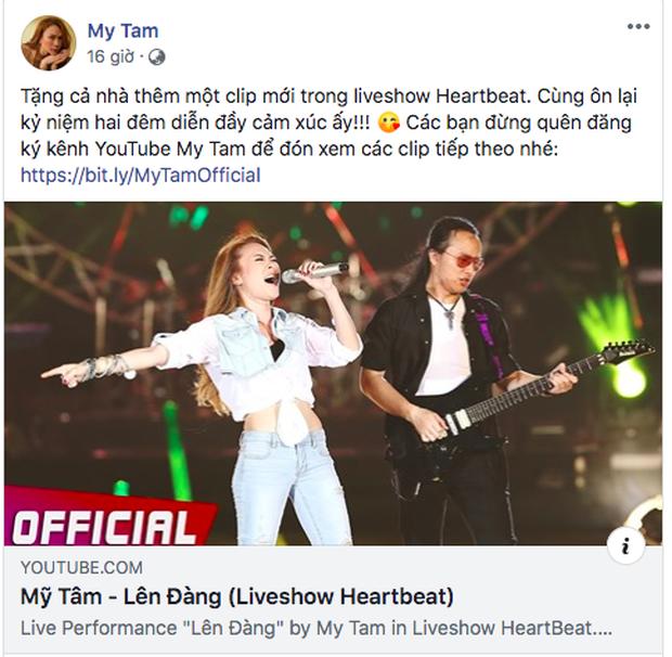 Mỹ Tâm liên tục đăng lại clip từ liveshow Heartbeat: Thấm thoắt đã 5 năm, từng màn trình diễn vẫn gói gọn trong 2 từ đẳng cấp! - Ảnh 18.