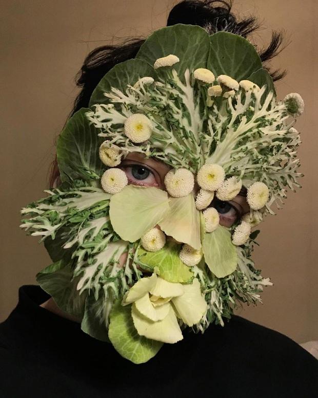 Mỹ nhân Nga làm 'dậy sóng' hội chị em với phong cách trang điểm bằng rau củ quả đẹp mê hồn - Ảnh 5.