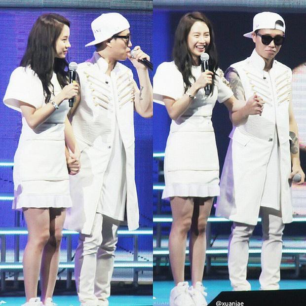Các cặp đôi hot nhất Running Man tình tứ công khai ở fanmeeting: Monday Couple đâu bằng Song Joong Ki - Kwang Soo - Ảnh 2.