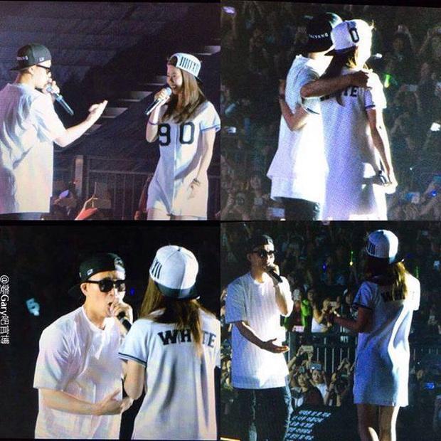 Các cặp đôi hot nhất Running Man tình tứ công khai ở fanmeeting: Monday Couple đâu bằng Song Joong Ki - Kwang Soo - Ảnh 1.
