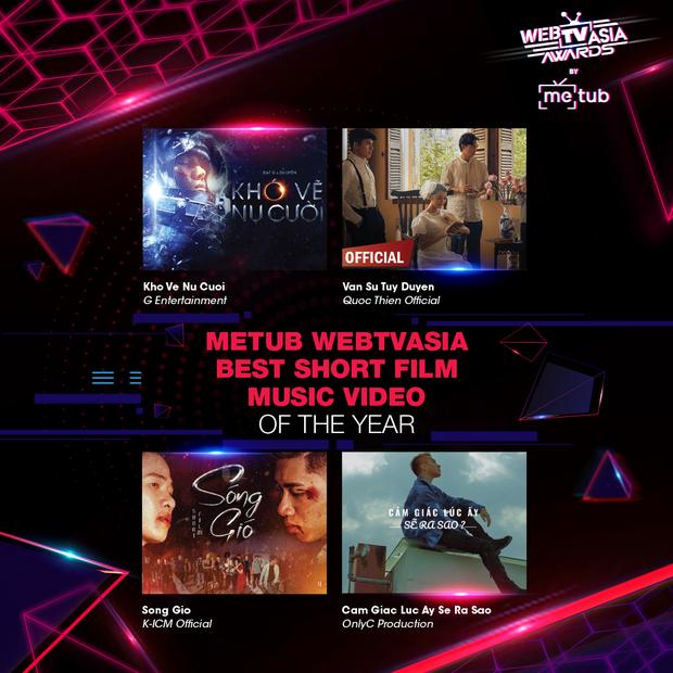 Đề cử WebTVAsia Awards 2019 bỏ quên Sơn Tùng M-TP, Hương Giang cùng loạt nghệ sĩ tên tuổi khiến netizen thắc mắc, BTC lên tiếng: sẽ cập nhật. - Ảnh 10.