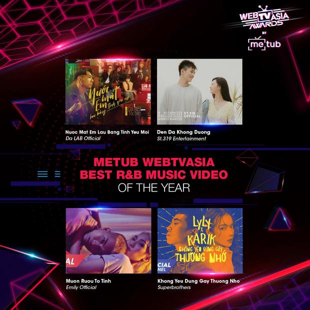 Đề cử WebTVAsia Awards 2019 bỏ quên Sơn Tùng M-TP, Hương Giang cùng loạt nghệ sĩ tên tuổi khiến netizen thắc mắc, BTC lên tiếng: sẽ cập nhật. - Ảnh 14.