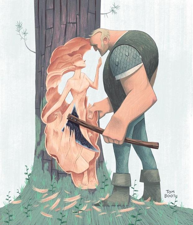 Mất đi người yêu thương đau đến thế nào? Tâm sự của chàng họa sĩ gửi vào bộ tranh gây xúc động mạnh - Ảnh 1.