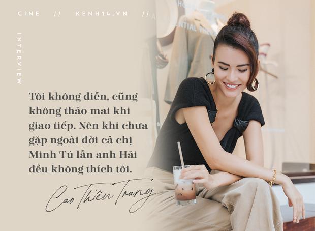 Cao Thiên Trang kể chuyện suýt mất vai vì lùm xùm show thực tế, tham vọng trở thành ác nữ điện ảnh Việt - Ảnh 3.