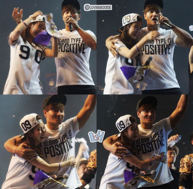 Các cặp đôi hot nhất Running Man tình tứ công khai ở fanmeeting: Monday Couple đâu bằng Song Joong Ki - Kwang Soo - Ảnh 12.