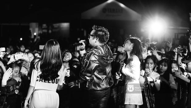 Yamaha Road to Ravolution: DJ Battle tại Đà Nẵng: Trung Quân Idol rủ rê Phùng Khánh Linh và Xesi lập nhóm nhạc - trận thư hùng bất phân thắng bại - Ảnh 16.