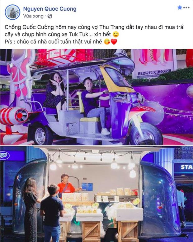 Cường Đô La đăng ảnh cùng vợ đi Thái, đáng chú ý là status bắt trend phụ huynh chơi Facebook đang hot MXH - Ảnh 1.