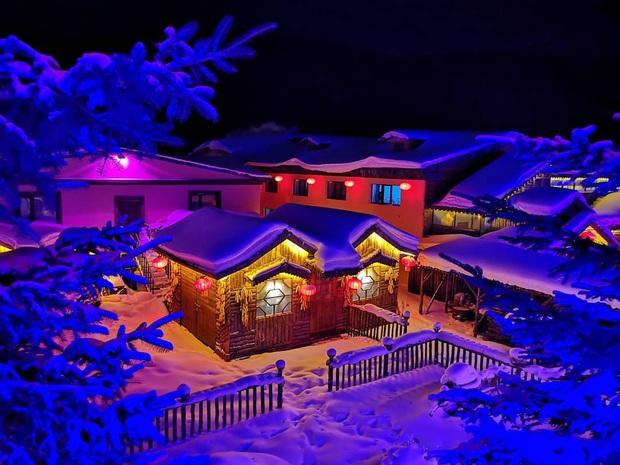 """Ngôi làng tuyết trắng đẹp không thua phim kiếm hiệp ở Trung Quốc, nhìn ảnh trên mạng và ngoài đời quả xứng tầm """"cực phẩm"""" - Ảnh 17."""