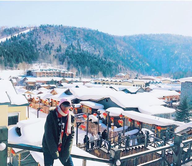 """Ngôi làng tuyết trắng đẹp không thua phim kiếm hiệp ở Trung Quốc, nhìn ảnh trên mạng và ngoài đời quả xứng tầm """"cực phẩm"""" - Ảnh 5."""
