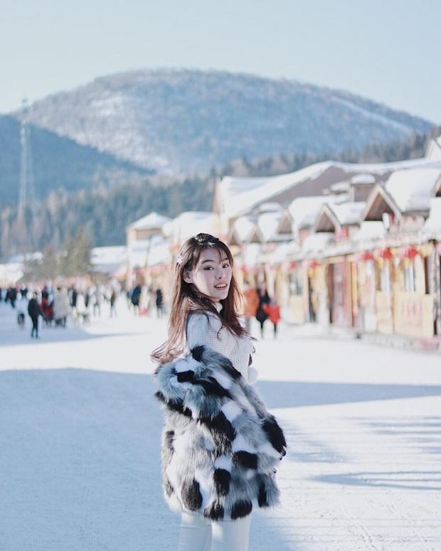 """Ngôi làng tuyết trắng đẹp không thua phim kiếm hiệp ở Trung Quốc, nhìn ảnh trên mạng và ngoài đời quả xứng tầm """"cực phẩm"""" - Ảnh 7."""