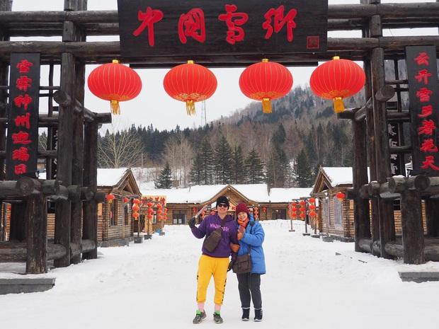 """Ngôi làng tuyết trắng đẹp không thua phim kiếm hiệp ở Trung Quốc, nhìn ảnh trên mạng và ngoài đời quả xứng tầm """"cực phẩm"""" - Ảnh 14."""