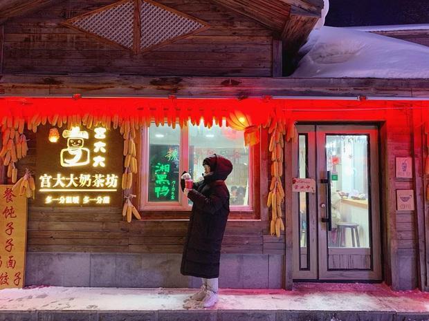 """Ngôi làng tuyết trắng đẹp không thua phim kiếm hiệp ở Trung Quốc, nhìn ảnh trên mạng và ngoài đời quả xứng tầm """"cực phẩm"""" - Ảnh 16."""