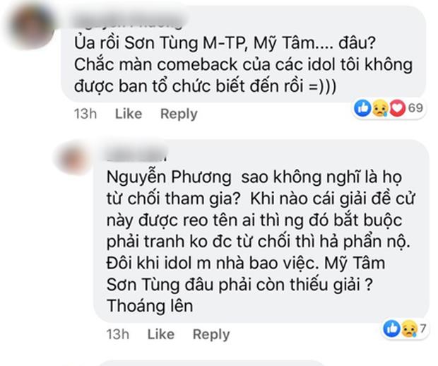 Đề cử WebTVAsia Awards 2019 bỏ quên Sơn Tùng M-TP, Hương Giang cùng loạt nghệ sĩ tên tuổi khiến netizen thắc mắc, BTC lên tiếng: sẽ cập nhật. - Ảnh 7.