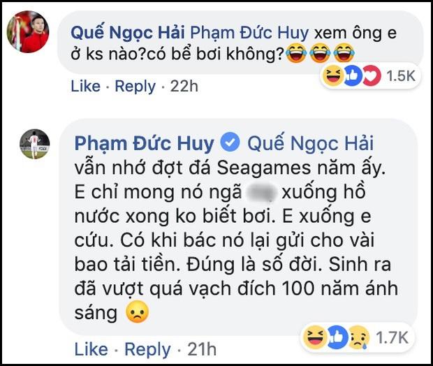 Bình luận của Đức Huy về cầu thủ mang thân phận hoàng gia bất ngờ được share điên đảo bên lề trận Việt Nam gặp Brunei ở SEA Games - Ảnh 2.