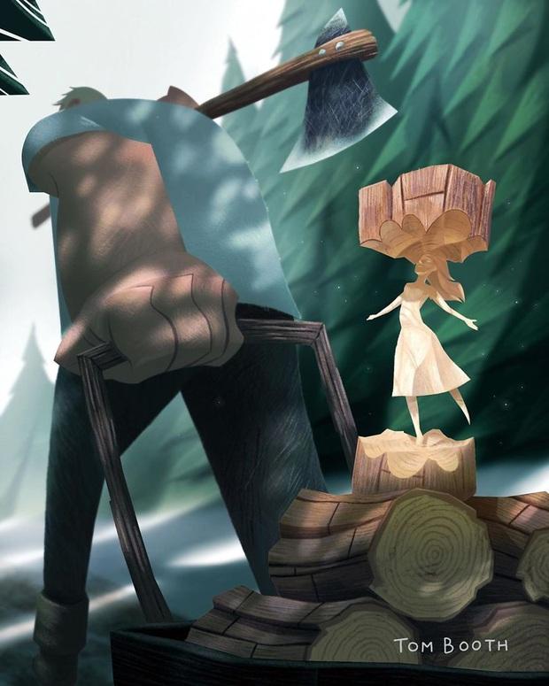 Mất đi người yêu thương đau đến thế nào? Tâm sự của chàng họa sĩ gửi vào bộ tranh gây xúc động mạnh - Ảnh 3.