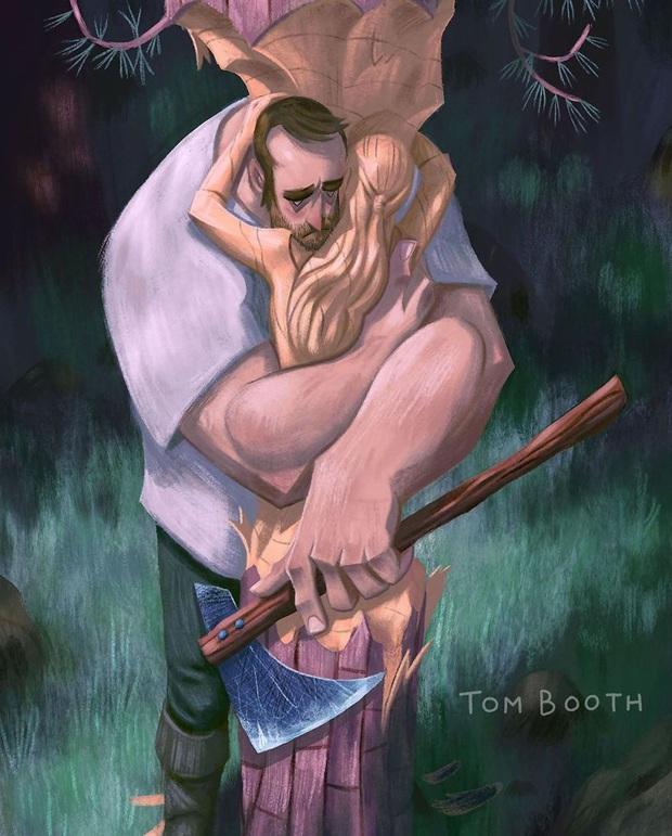 Mất đi người yêu thương đau đến thế nào? Tâm sự của chàng họa sĩ gửi vào bộ tranh gây xúc động mạnh - Ảnh 8.