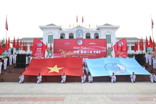 1.200 hội viên, thanh niên tỉnh Điện Biên tham gia hành trình Tôi yêu Tổ quốc tôi - Ảnh 3.