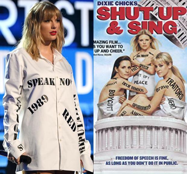 Từ chiếc áo cho đến cây đàn piano khắc chữ tinh xảo, Taylor Swift đều gửi gắm thông điệp kêu gào cho số phận 6 album cũ tại AMAs 2019? - Ảnh 6.