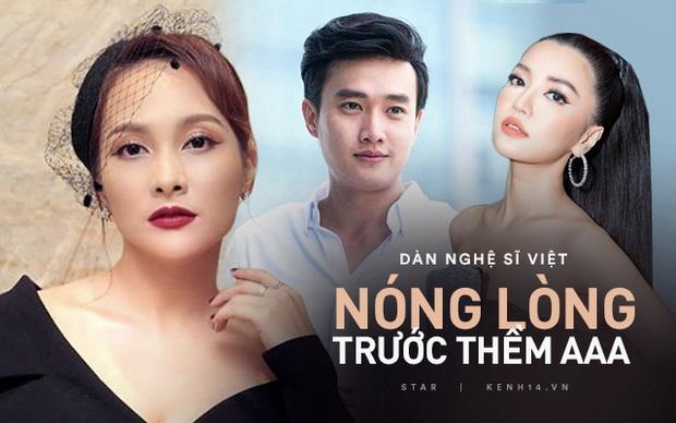 Phỏng vấn nóng 3 sao Việt dự AAA 2019: Quốc Trường sợ đụng độ Ji Chang Wook, Bích Phương và Bảo Thanh nói gì? - Ảnh 1.