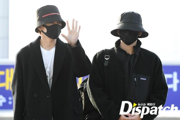 Dàn sao từ Hàn sang Hà Nội dự AAA sáng nay: Yoona buồn bã, Jang Dong Gun, GOT7 vừa khởi hành, sân bay đầy không khí đau thương - Ảnh 15.