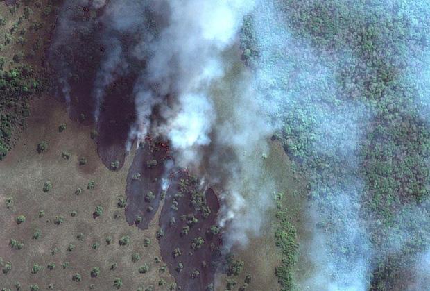 Hình ảnh từ trên cao cho thấy sự tác động của con người đến Trái Đất - Ảnh 1.