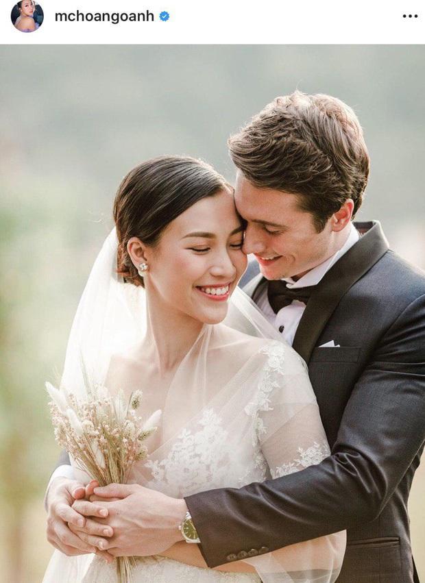 MC Hoàng Oanh khoe thêm ảnh cưới nhắc nhớ màn cầu hôn cực lãng mạn, bối cảnh đẹp tựa truyện cổ tích! - Ảnh 4.