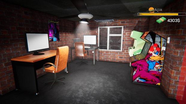 Xuất hiện game giả lập siêu lạ, cho phép bạn tự mở và kinh doanh quán net - Ảnh 4.