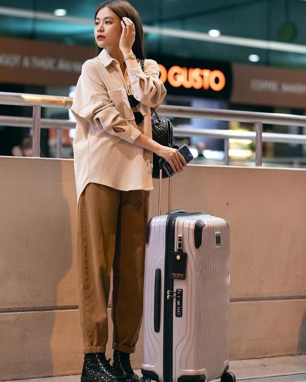 Street style sao Việt tuần qua: Ngọc Trinh thời trang phang thời tiết, Sĩ Thanh lên đồ đơn giản nhưng sang hơn mấy chân kính - Ảnh 8.