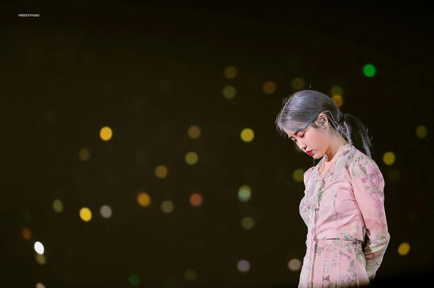 IU trong đêm concert vào ngày Goo Hara qua đời: Cuộc sống này thật khó khăn nhưng hãy mạnh mẽ lên, chúng ta cần phải sống tiếp - Ảnh 5.