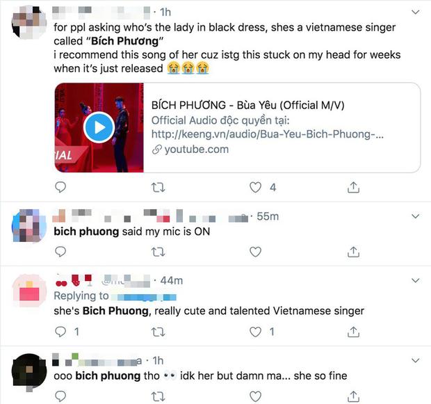 Netizen quốc tế khen ngợi Bích Phương hết lời, truy lùng thông tin đòi làm fan sau sân khấu live Đi Đu Đưa Đi đầy ấn tượng tại AAA 2019 - Ảnh 6.