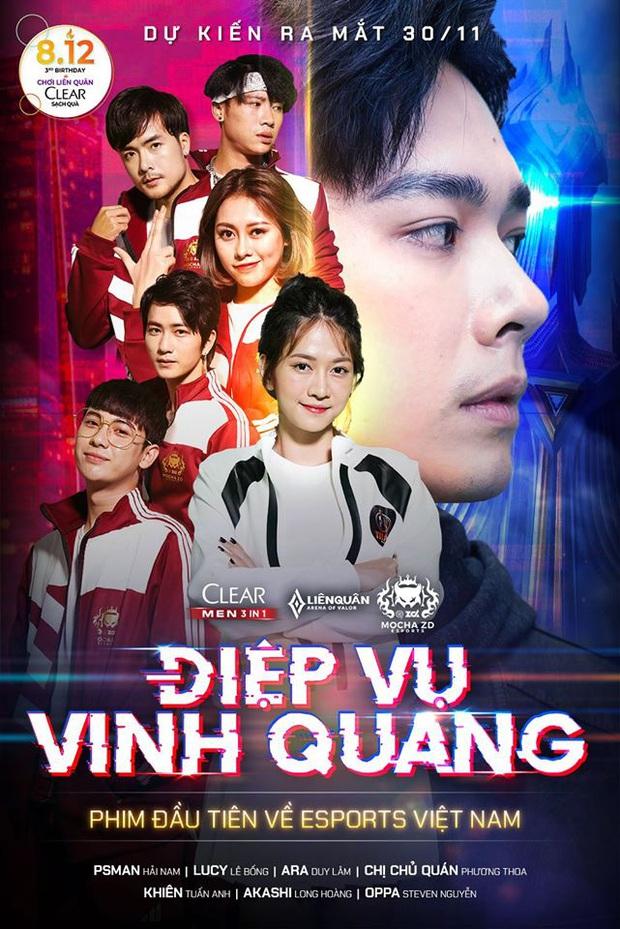 PewPew, Thái Vũ, Huỳnh Phương cùng góp mặt trong bộ phim về Esports đầu tiên tại Việt Nam - Ảnh 1.