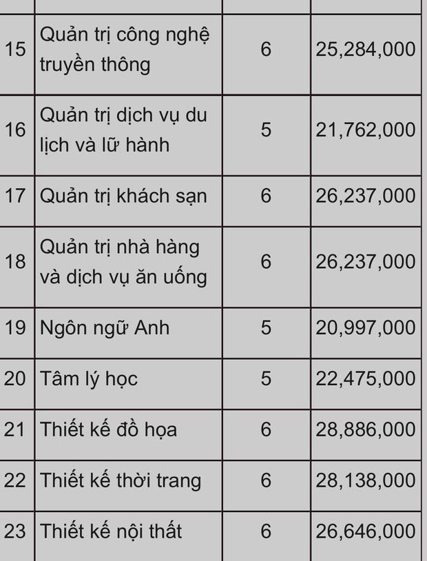 Choáng với những trường Đại học có học phí tiền tỷ, cao nhất Việt Nam: RMIT đã bị một trường khác soán ngôi? - Ảnh 10.