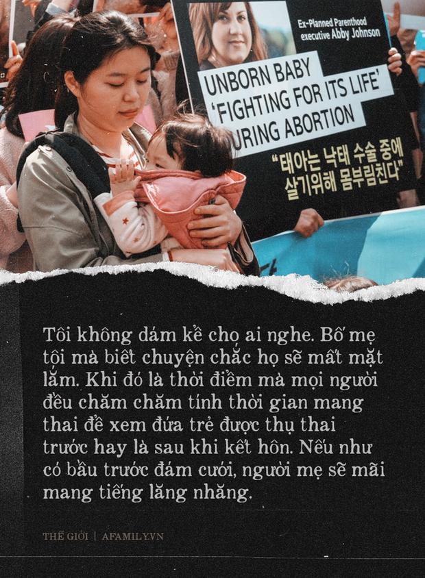 """Nỗi khổ của phụ nữ Hàn Quốc với luật cấm phá thai: Chưa chồng mà chửa sẽ bị kì thị suốt đời, mạo hiểm tính mạng để đi nạo phá thai """"chui"""" - Ảnh 3."""