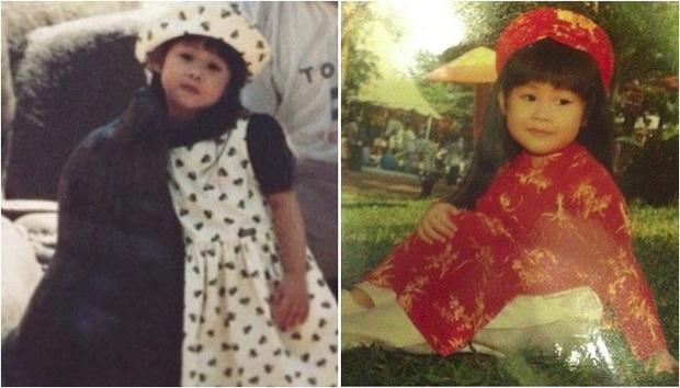 Rich kid Tiên Nguyễn khoe ảnh hồi nhỏ, mũi không cao như hiện tại nhưng gương mặt lại đặc biệt đáng yêu - Ảnh 3.