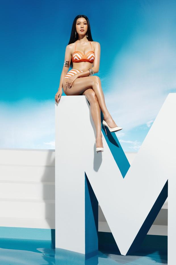 Trước thềm bán kết, Top 45 Hoa hậu Hoàn vũ Việt Nam gây sốt với loạt ảnh bikini hiện đại, khoe body khỏe khoắn - Ảnh 1.