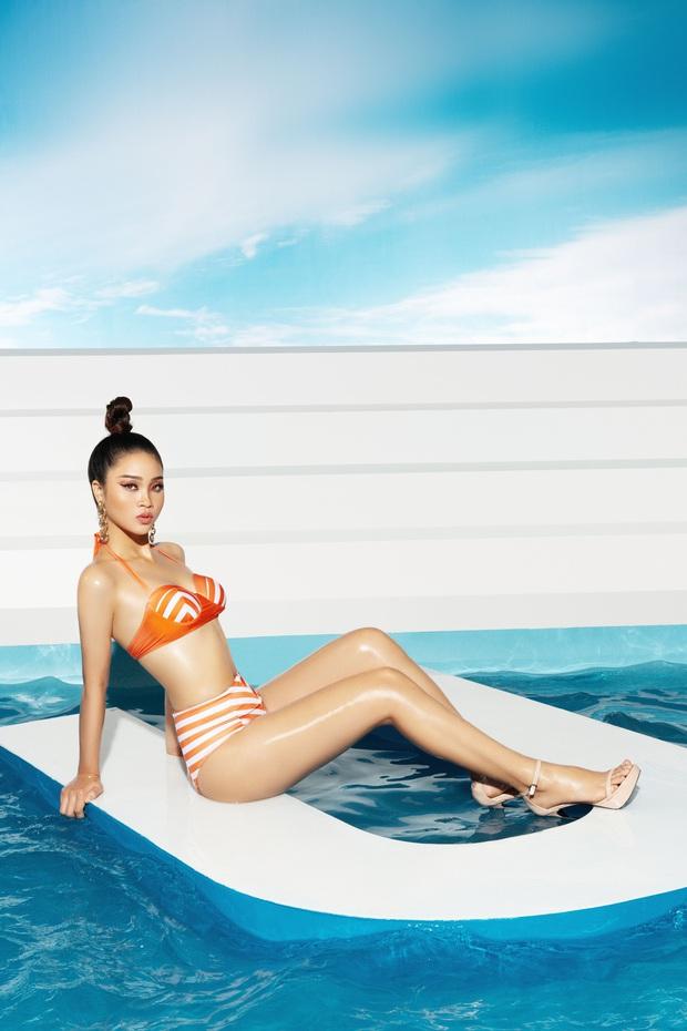 Trước thềm bán kết, Top 45 Hoa hậu Hoàn vũ Việt Nam gây sốt với loạt ảnh bikini hiện đại, khoe body khỏe khoắn - Ảnh 10.