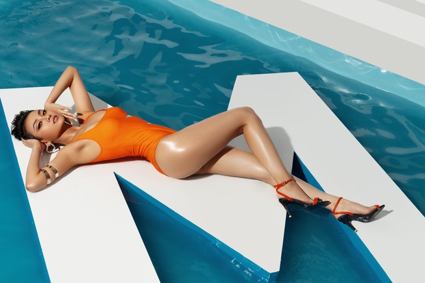 Trước thềm bán kết, Top 45 Hoa hậu Hoàn vũ Việt Nam gây sốt với loạt ảnh bikini hiện đại, khoe body khỏe khoắn - Ảnh 7.