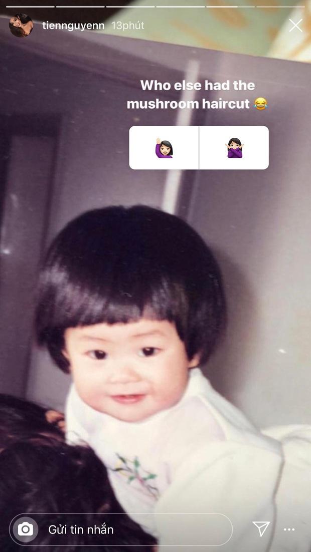 Rich kid Tiên Nguyễn khoe ảnh hồi nhỏ, mũi không cao như hiện tại nhưng gương mặt lại đặc biệt đáng yêu - Ảnh 2.