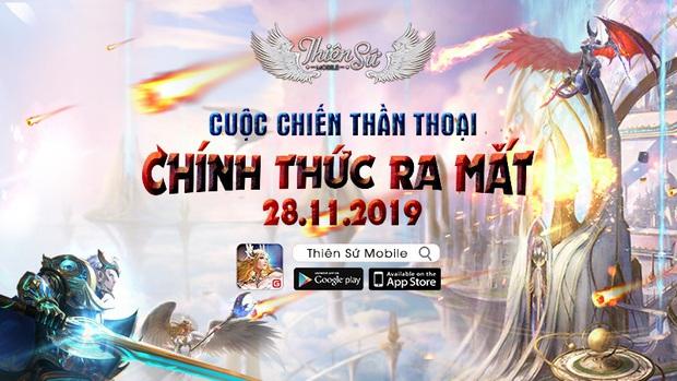 Tựa game thần thoại Thiên Sứ Mobile chính thức ra mắt game thủ Việt  - Ảnh 1.