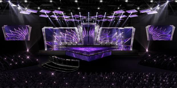 Chính thức hé lộ sân khấu chung kết Hoa hậu Hoàn vũ Việt Nam: Lần đầu tiên xuất hiện đường catwalk dài 60m chuẩn quốc tế! - Ảnh 1.
