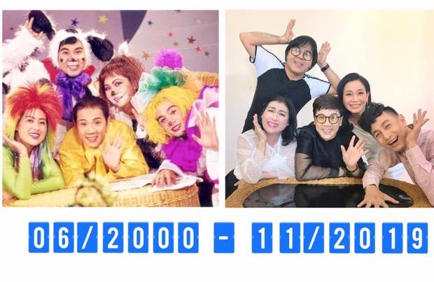 Bức ảnh đang hot nhất mạng xã hội: Nhóm Líu Lo tề tựu sau 19 năm ra mắt trên show truyền hình! - Ảnh 2.