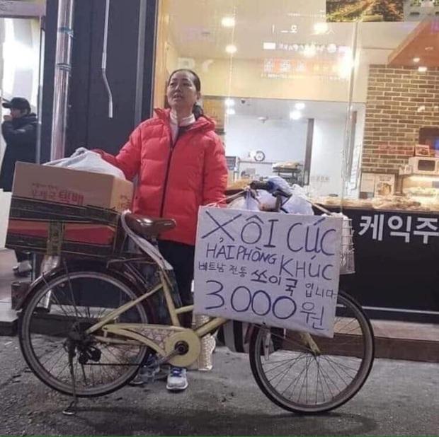 Xe bán bánh khúc và quầy ép nước mía đậm chất Việt Nam xuất hiện trên đường phố Hàn Quốc khiến dân tình thích thú, giá thì đắt hơn 4-5 lần - Ảnh 2.