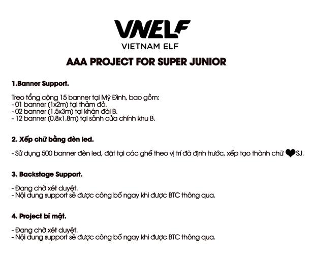 """Fandom chịu chơi nhất Việt Nam gọi tên VNELF: Tài trợ cho AAA 2019 đã đành còn mở project trăm triệu khiến Super Junior """"phổng mũi"""" tự hào - Ảnh 5."""